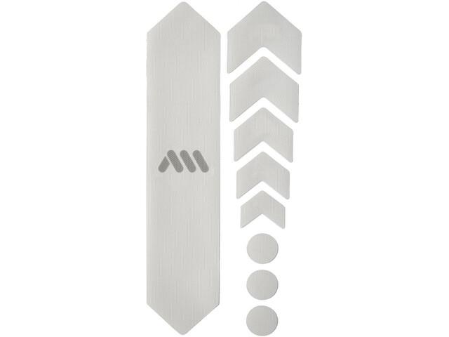 All Mountain Style Basic Kit Protección Cuadro 9 Piezas, transparente/Plateado